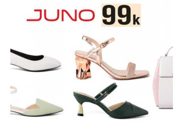 khuyến mãi giày Juno