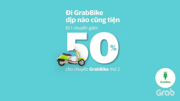 Mã giảm giá Grabbike